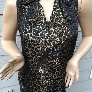 Dana Bachman blouse size 10